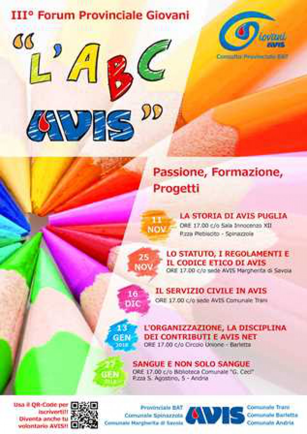 ABC AVIS - FORUM GIOVANI AVIS BAT