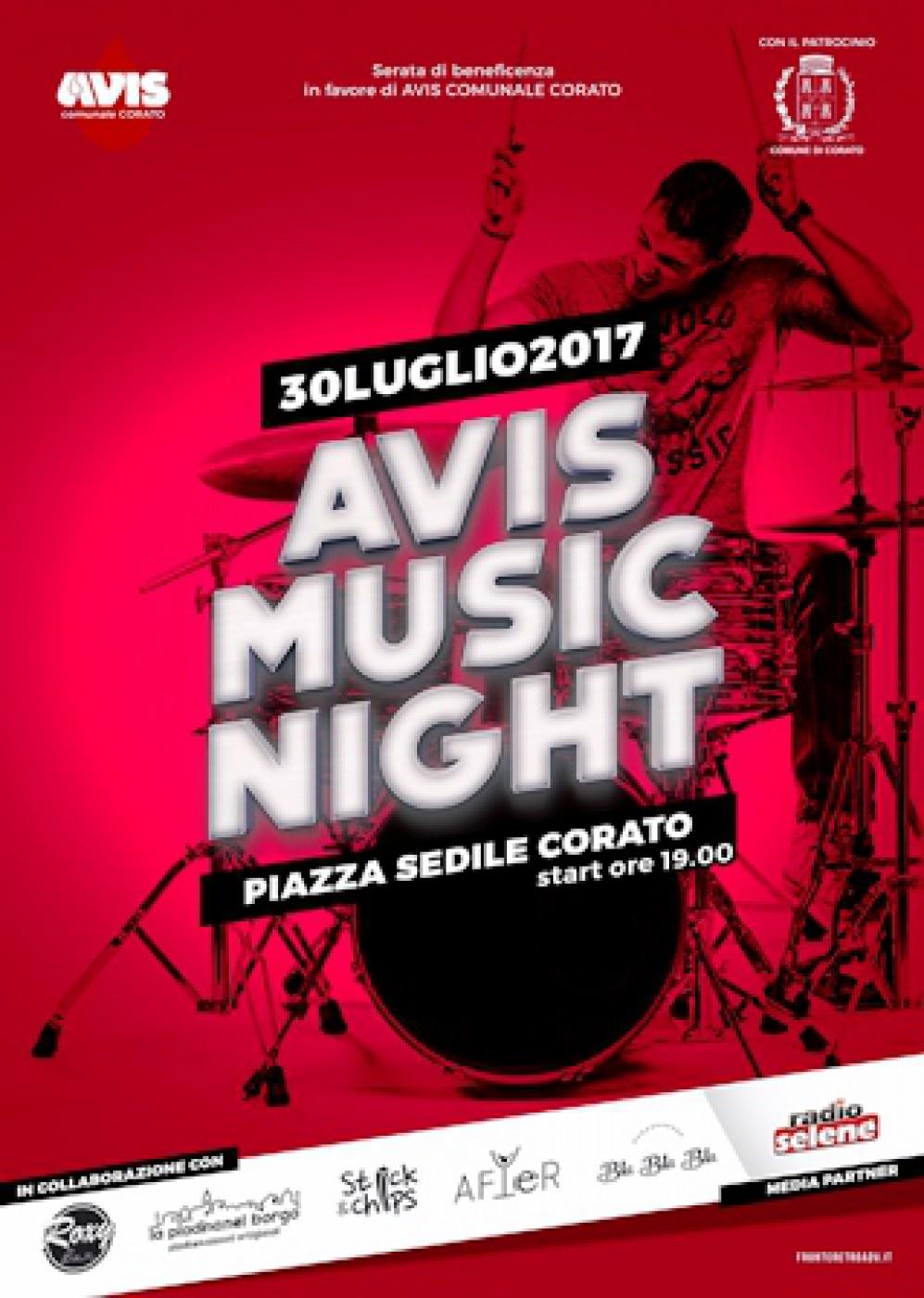 CORATO: AVIS MUSIC NIGHT