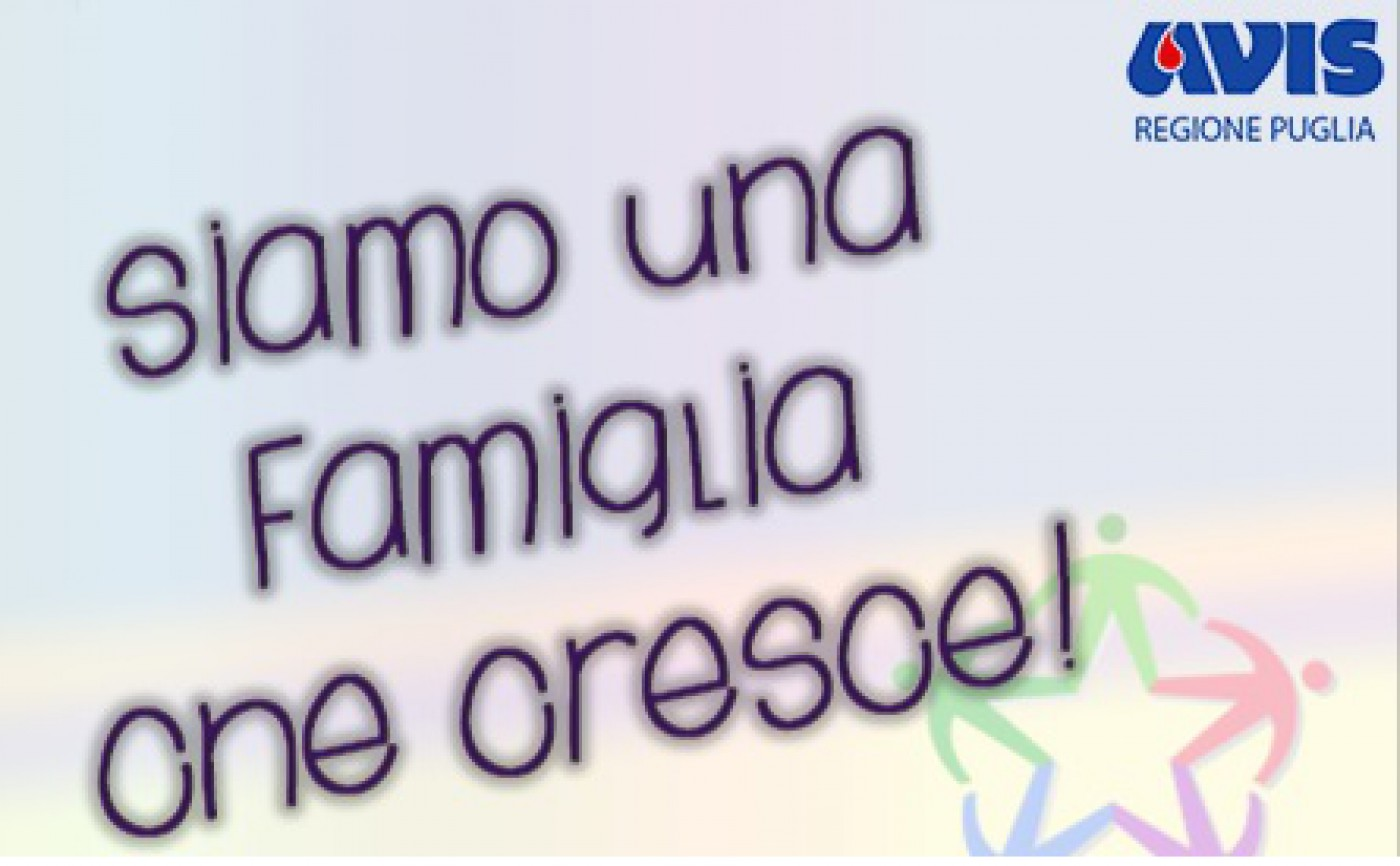 AVISiamoci, la prima rivista AVIS Puglia