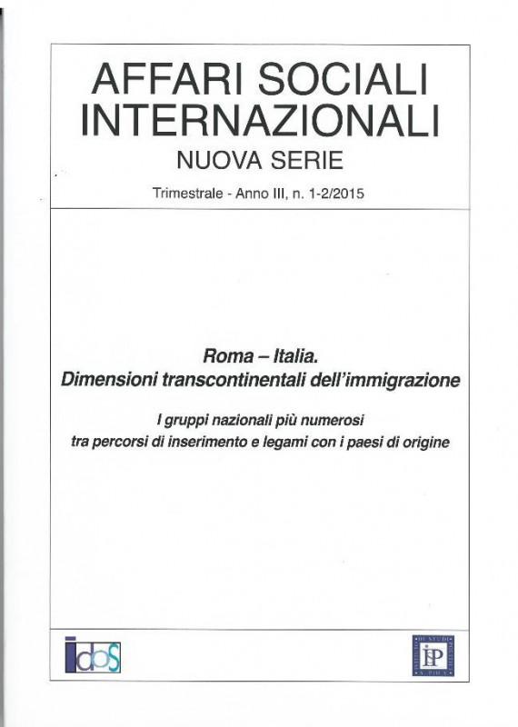 Roma-Italia. Dimensioni transcontinentali dell