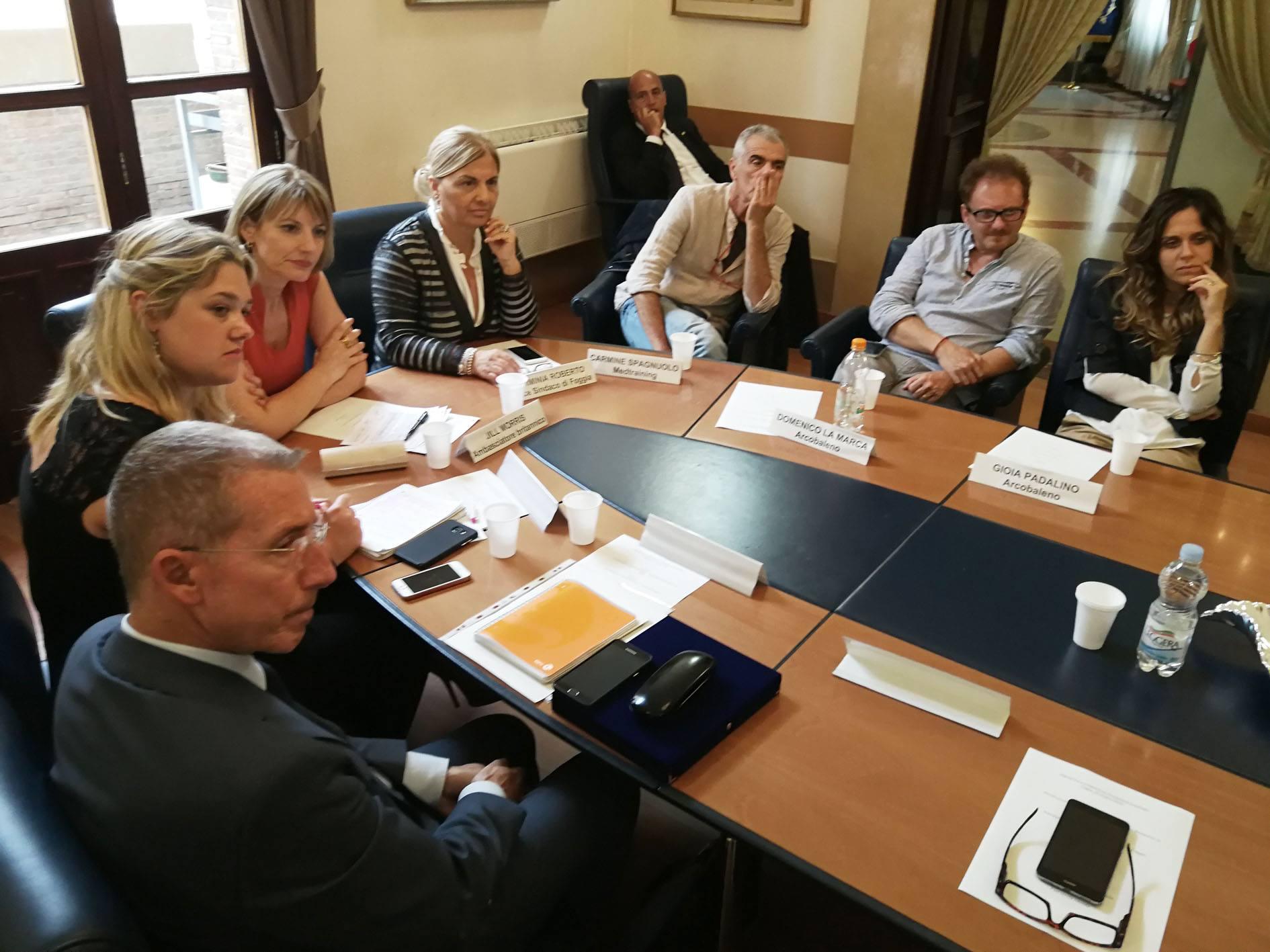 Incontro con Jill Morris, Ambasciatore del Regno Unito in Italia