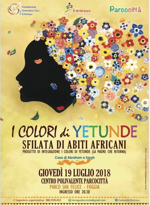 I colori di Yetunde: Sfilata di abiti africani
