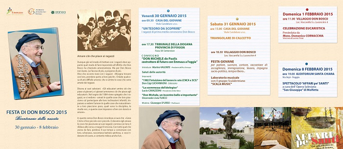 Emmaus: Festa don Bosco 2015