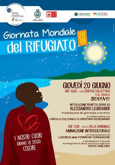 Giornata Mondiale del Rifugiato - eventi a BOVINO