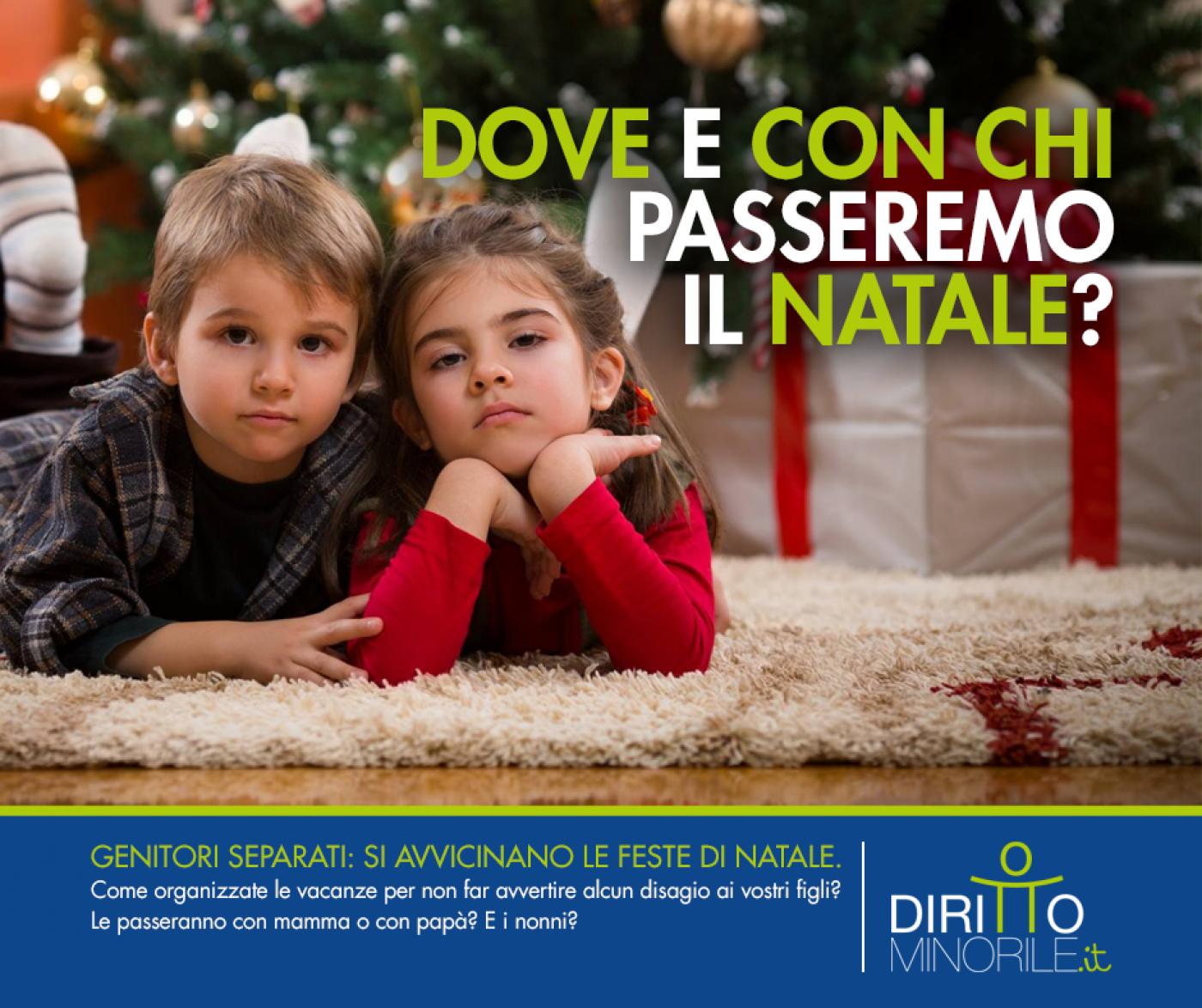 Festività natalizie e diritto di visita, come gestire il Natale tra genitori separati
